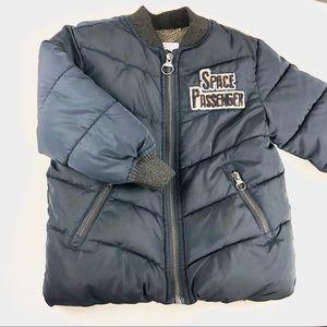 Zara baby boy fur jacket